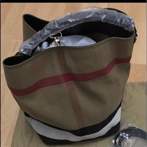 Brand new Burberry bag with tags
